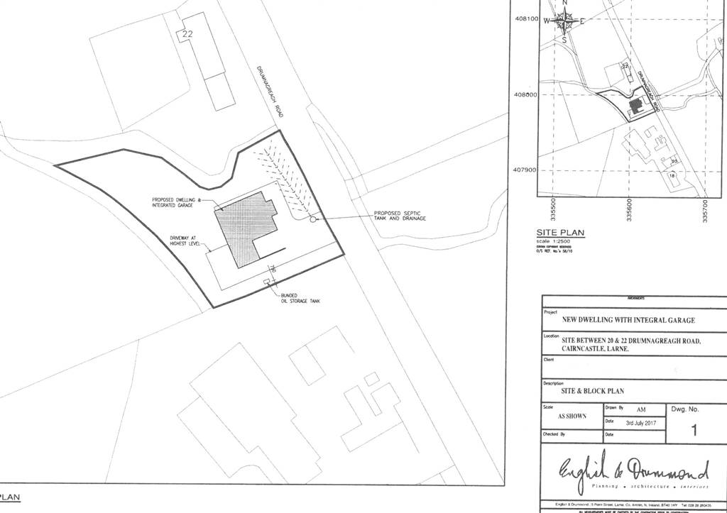 new build property adjacent to  20 drumnagreagh road  ballygalley  larne property for sale at